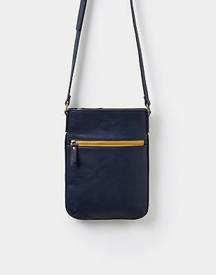 Joules 124323 Womens Pu Across Body Bag in Navy in One Size