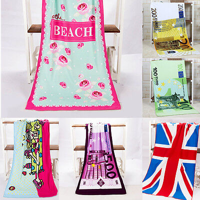 Large Lightweight Beach Swimming Bath Microfibre Towel Sport Travel Camping Gym