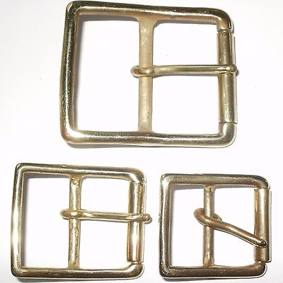 Solid Brass Full Roller Military Style Belt Strap Buckle 50Mm - 40Mm - 32Mm