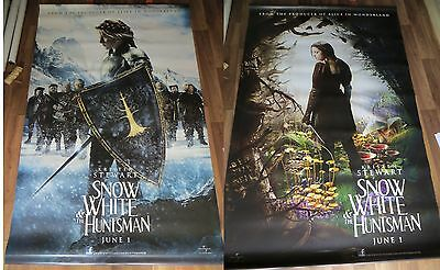 SNOW WHITE & THE HUNTSMAN cinema vinyl banner 8' x 5' (RARE DOUBLE SIDED)