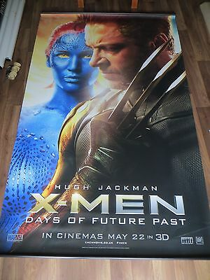 X_MEN DAYS OF FUTURE PAST (Lawrence / Jackman) cinema vinyl banner 8' x 5'