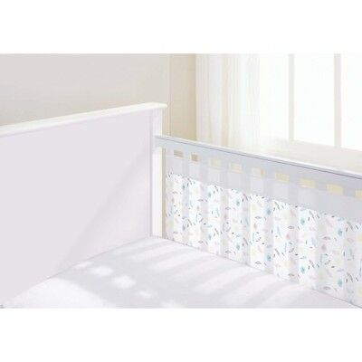 Breathable Baby Mesh Airflow Cot Liner Two Sided - Marabou