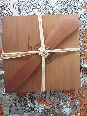 Timber Cheese Board & Knife New Zealand Ancient buried forest,carbon dated