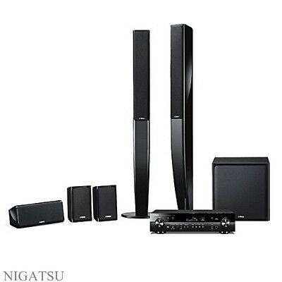 New YAMAHA YHT-903JP-B YAMAHA home theater package RX-S601 + NS-PA40 from JAPAN
