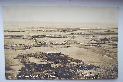 Early 1900s View from Look-Off NORTH MOUNTAIN NOVA SCOTIA CANADA UNC Collectible