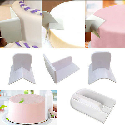 Cake Smoother Paddle Fondant Polisher Finisher Baking Accessories Supply Tool