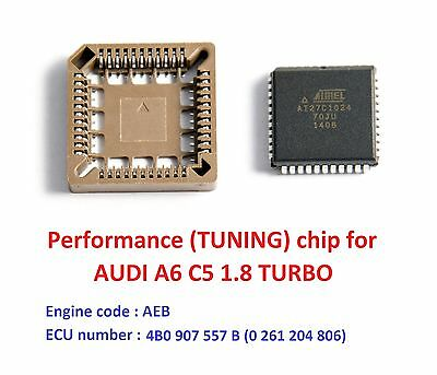 Modified chip for AUDI A6 C5 1.8T AEB turbo engine. Chip tuning (Chiptuning)!