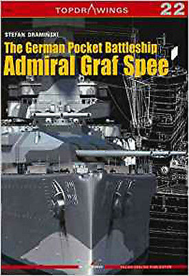 The German Pocket Battleship Admiral Graf Spee (Top Drawings), New, Draminski, S
