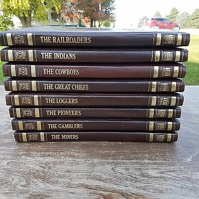 Time-Life The Old West Book Lot of 8