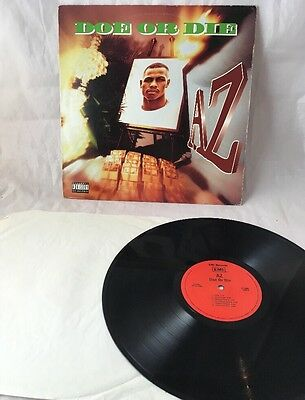"AZ - Doe or Die LP 12"" 1995 Vinyl A.Z Rap Hip Hop"