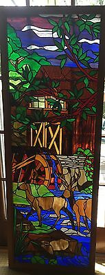 stained glass door or window panel