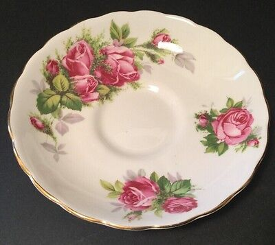 TUSCAN - Moss Rose #C9612 - BREAD & BUTTER PLATE - TEA SAUCER England China