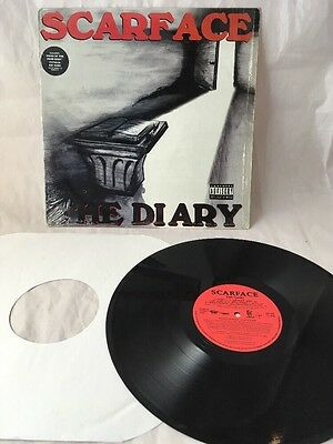 Scarface The Diary 1994 Vinyl LP Rap Hip Hop