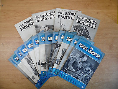 17 x The Model Engineer Magazines 1952/53 Job Lot Vol.107/108
