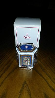 Spode Hexagon Fine Bone China Collectors Paperweight Made in England F1870-AO