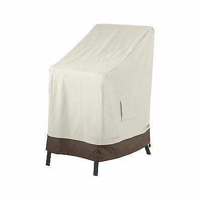 AmazonBasics Stackable Patio Chairs Cover