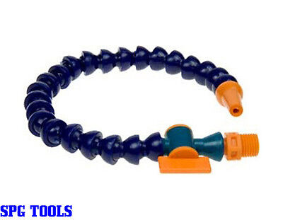 Lathe Coolant Pipe With Round Spout & Tap