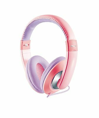 Trust Sonin Kids Headphone Hearing Protection for Kids - Pink/Purple