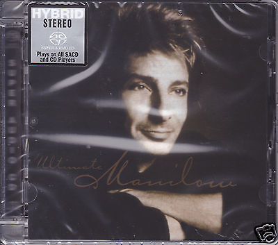 """""""Barry Manilow Ultimate"""" Limited Numbered Stereo Hybrid DSD SACD Audiophile CD"""
