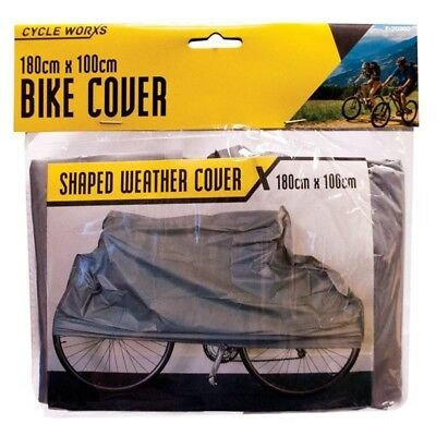 Large Universal Waterproof Cycle Bicycle Bike Cover Rain Resistant Mountain BMX
