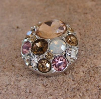 GINGER SNAPS™ BROOCH - PEACHES Jewelry - BUY 4, GET 5TH $6.95 SNAP FREE