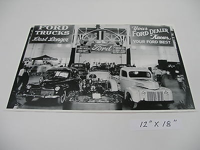 Ford 1947 SHOW ROOM , * Poster *