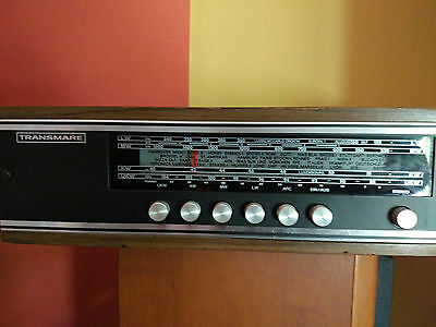 Radio Transmare Stereo Tunner T500 año 1970