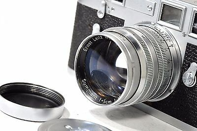 SUMMARIT 50mm f1.5  LTM mount, Leitz Wetzlar  for Leica rangefinder