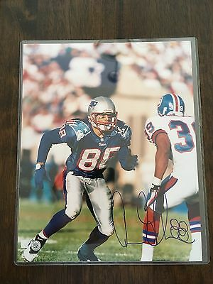 8 X 10 photo signed by New England Patriots Terry Glenn #88