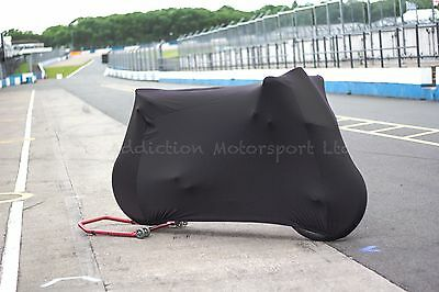 Ducati Super Soft Perfect Stretch Indoor Bike Motorcycle Cover Breathable Black