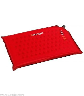 Vango Self Inflating Trek Seat Pad Sit Mat - Red FREE POST !!!