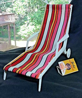 Vintage Barbie Go Together Chaise Lounge - MINTY!