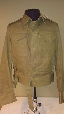 Post WW2 WWII British Pattern 40 Denim Battle Dress 1952