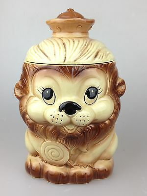 Scarce Lion Lolly Cookie Jar As Seen In Only Fools And Horses TV Series