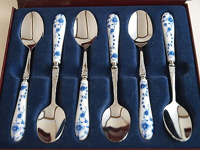 Boxed Set of 6 Coffee/Tea Spoons - High Quality18-10 Stainless Steel