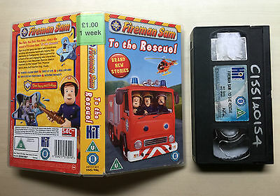 Fireman Sam To The Rescue - Vhs Video