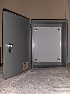 Robroy Industrial Electrical Enclosure Panel With Back Plate