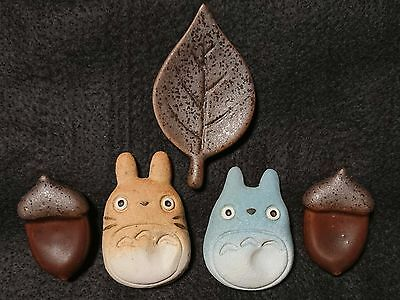 MY NEIGHBOR TOTORO JAPAN Studio Ghibl Ceramic Chopstick rest GIFT