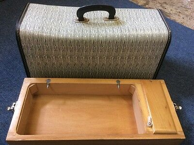 Vintage Sewing Machine  Carry Case/box  For Frister Rossmann Etc