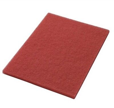 "CLARKE 997004 14""x32""X1"" RED BOOST BUFF PADS 5/CASE. New!!!"