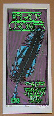 Black Crowes Columbus OH Mike Martin Concert Poster Handbill Print 2008