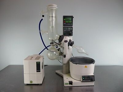 Buchi R-205 Rotavap with Vacuum System and Glass Assembly with Warranty