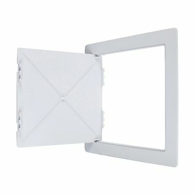 Wallo 10 X 10-Inch Plastic Access Door Reinforced Hinged Access Panel for Dry