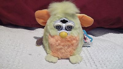 Furby Babies Yellow and Orange Vintage 1999 First Generation Tiger Electronics