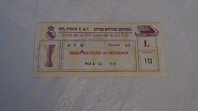 1985 Uefa Cup Final Real Madrid vs Videoton Hungary