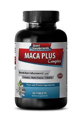 Stinging Nettle Extract - Maca Plus Complex 1275mg - Male Sexual Performance 1B