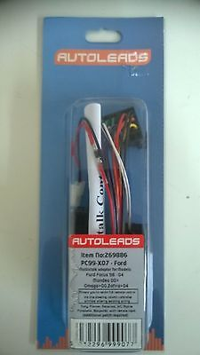 Autoleads PC99-X07 Stalk Adaptor Vehicle Lead for Ford Focus Mondeo