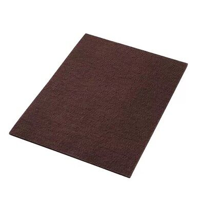 "America Maroon EcoPrep ""EPP"" Chemical Free Stripping Floor Pads 14""x28""-10/Case"
