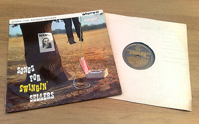 """ Songs For Swinging Sellers ""super Uk Vrare Black Gold Stereo George Martin"
