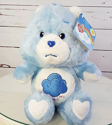 "2002 Care Bears Grumpy Bear 20th ANNIVERSARY 8""  New / Tags"